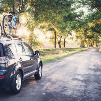 Fahrradhalter Autodach